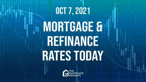 Mortgage and refinance rates today, Oct. 7, 2021